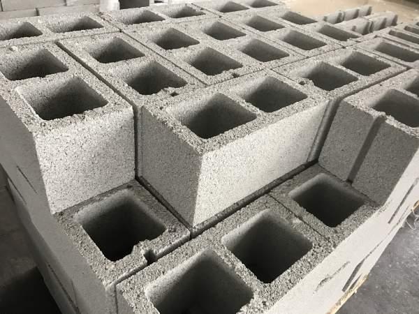 Materiali da costruzione in calcestruzzo